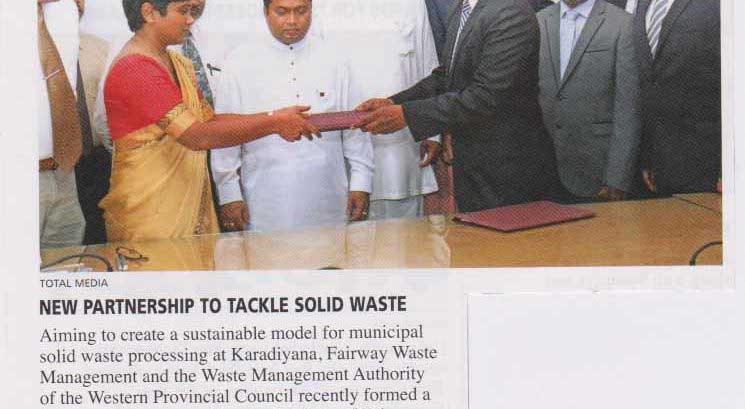 New Partnership to Tackle Solid Waste