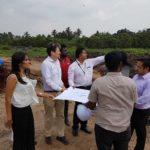 IFC bank officers visit to Karadiyana Site
