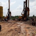 PILING ON COOLING TOWER